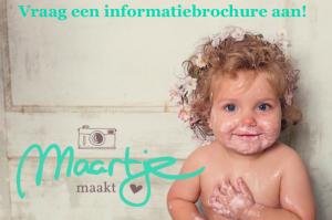 Vraag een informatiebrochure aan voor een fotoshoot bij Maartje Maakt in Echt